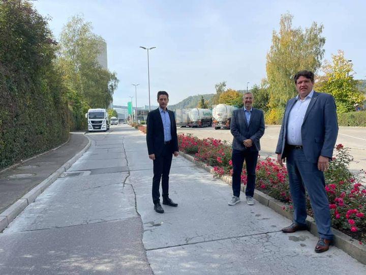 PM: Joukov-Schwelling besucht HeidelbergCement in Schelklingen