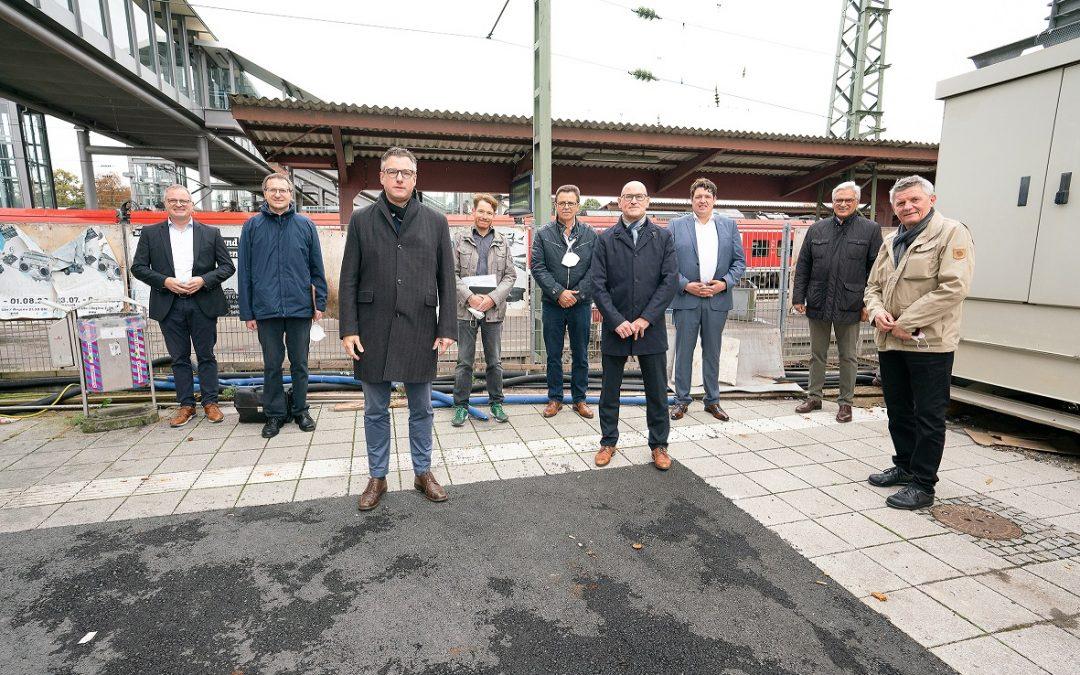 PM: Bewegung bei der Schaffung eines südlichen Zugangs zum Ulmer Hauptbahnhof